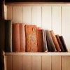 Old books on a shelf. by shalowater @ lj