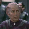 "Alan Rickman as Alexander Dane/Dr. Lazarus, ""Galaxy Quest"" (1999), looking off screen at someone/something in horrified disbelief."
