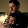 Chloe hugging Lucifer