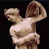 a marble statue of Aphrodite