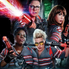 Ghostbusters 2016: Abby, Erin, Patty, and Holtzmann posing with their weapons