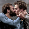 Marwan Kenzari and Luca Marinelli as Immortal Husbands Joe and Nicky