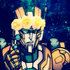 An image of Rung (from mtmte) in a flower crown, holding his glasses in his hand. holy shit he's hot.