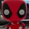 Funko Pop Deadpool in a heart dress