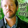 Harry wants me to finish his story...