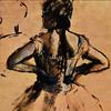 """Edgar Degas: """"Ballet Dancer Facing Inward"""""""