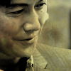 Yukawa Manabu - smiling fondly