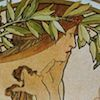 Poetry, from The Four Arts by Alphonse Mucha