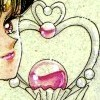 The Garnet Orb (top of the Time Key), Sailor Pluto
