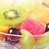 fenellaevangela's icon - a bowl of sliced fruit.