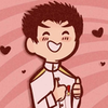 ishimaru from dangan ronpa grinning at giving a thumbs up
