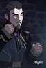 Viren shudders and says ugh from putting the bug on his ear to speak to Aaravos