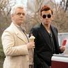Aziraphale & Crowley enjoying ice cream treats