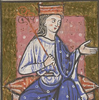 13th century image of Aethelflaed
