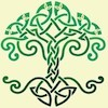 tree designed of celtic knots
