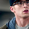 Steve in glasses. What a babe.