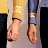 the gold and the blue (lj icon by this-i-love)
