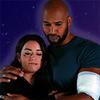 3x16 mackdaisy hug with textured purple background
