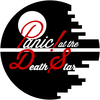 "A fictional logo for the band ""Panic! at the Death Star"""