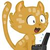 cat avatar by David Revoy