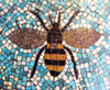 a mosaic bee from battersea