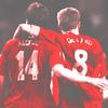 Steven Gerrard and Xabi Alonso