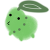 A poorly and quickly drawn Chikorita cuz I as sick of having the default icon