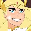 Icon of She-Ra smiling radiantly