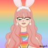 Icon by sherrysicle's sad girl maker on picrew