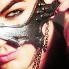 Adam Lambert with mask (gift from fan)