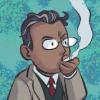 Jon smoking avatar