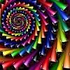 asymmetrical color