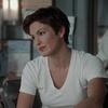 Olivia Benson in a white t-shirt.