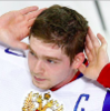 takemehome icon - Evgeny Kuznetsov holding up his hands to his ears