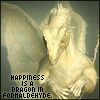 Happiness is a dragon in formaldehyde