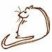 Nezu is a rat who writes