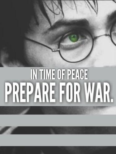 Praeparet Bellum (Prepare for War) - TanninTele - Harry
