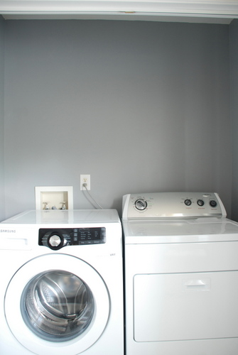 Laundry closet olympic flagstone