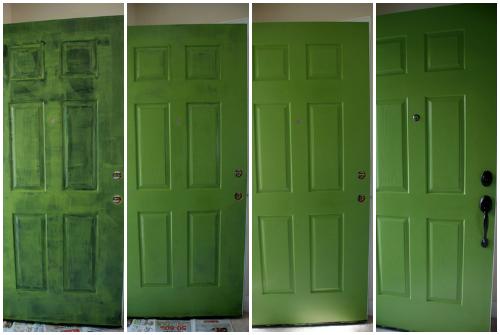 Green Door What Does The Color Of Your Front Door Say