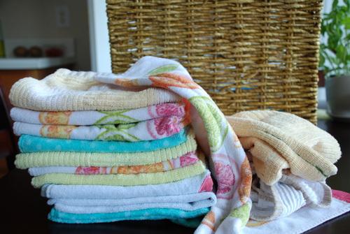 towels rags