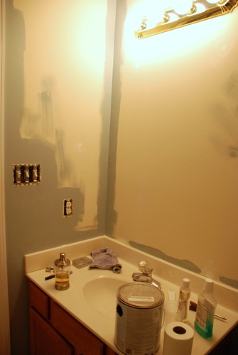 bathroom painting