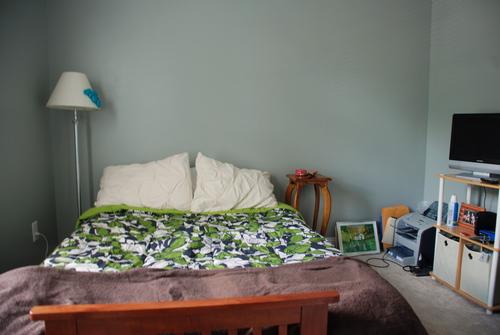 guest bedroom valspar coastal cliff