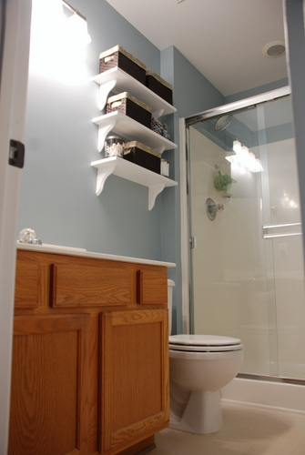 Bathroom Open Shelving Part 61