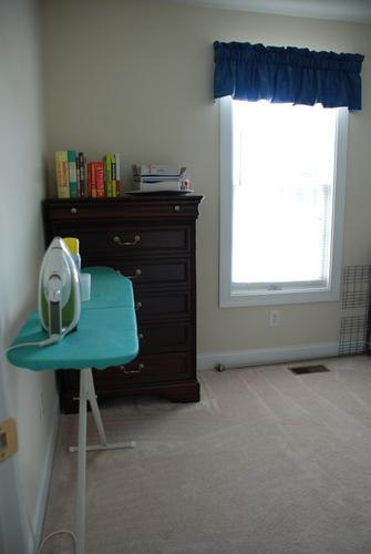 spare room organzing