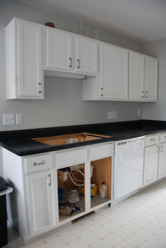 Countertop Dishwasher Craigslist : Lucky for us, Lowe?s had an awesome sale on a dishwasher we?d been ...