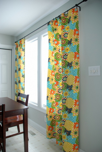 waverly button blooms confetti curtains