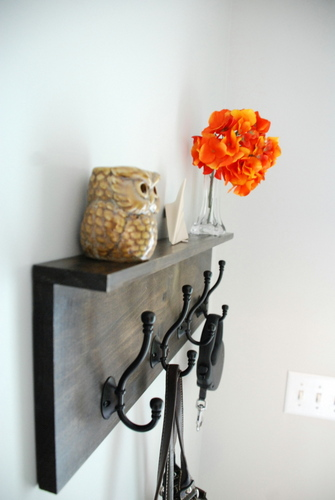 diy coat rack
