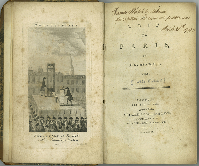 A Trip to Paris, in July and August, 1792
