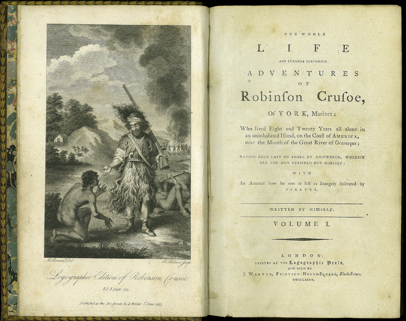 The Whole Life and Strange Surprising Adventures of Robinson Crusoe, of York, Mariner