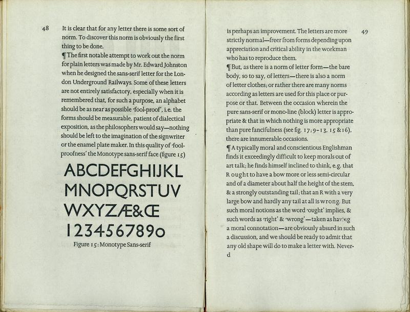 typography essay
